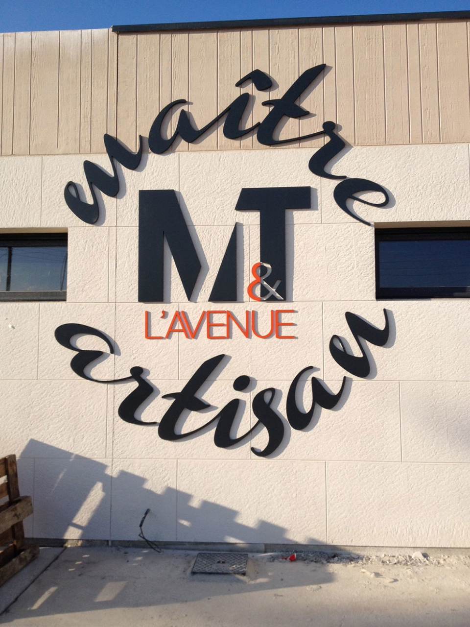 Enseigne pour M&T l'avenue