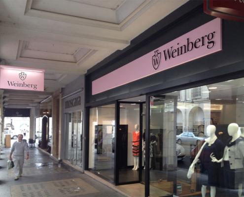 Signalétique pour Weinberg